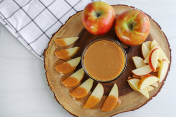 Caramel and Sea Salt Apple-tizers