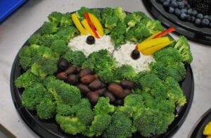 Oscar the Grouch Broccoli Tray