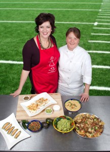 Visit MyGardenCut.com to View Chef Concetta's Complete Big Game Menu!