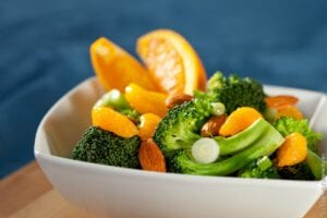 Broccoli Mandarin Salad Recipe