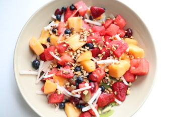 Hazelnut Fruit Salad