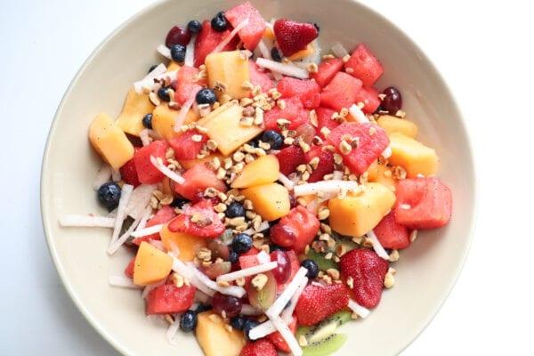 Hazelnut Fruit Salad