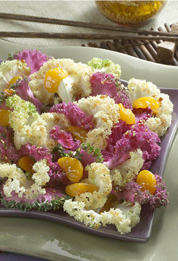 Asian Salad with salad Savoy