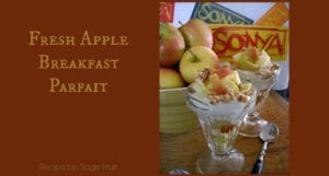 Apple Breakfast Parfait
