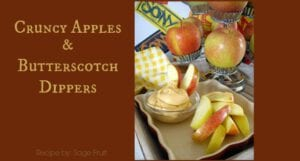 Apple Butterscotch Dippers