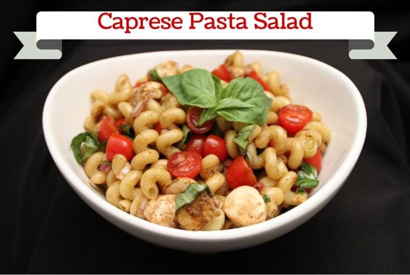 Caprese Pasta-Salad