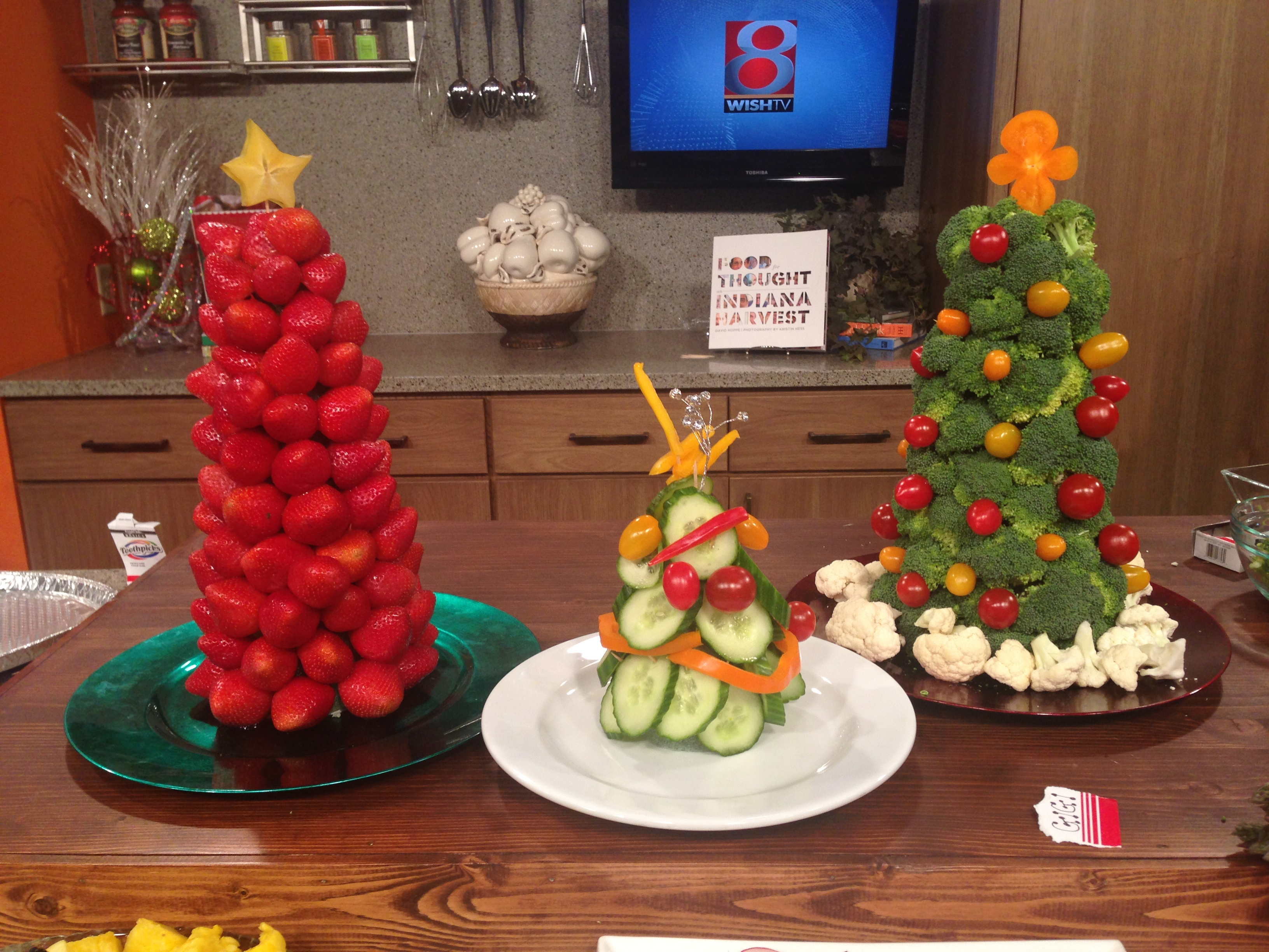 3 D Fruit Veggie Holiday Decor On Indy Style The Produce Moms