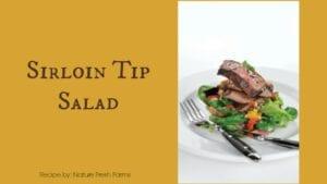 Sirloin Tip Salad