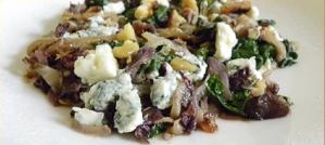 Tuscan Spinach Salad