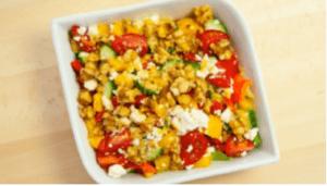 Walnut and Feta Cheese Salad