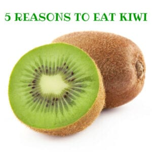 Kiwi is the world's most nutrient-dense fruit!