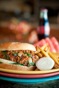 Vidalia Onion Sloppy Joes recipe