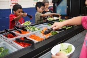 salad bar in schools