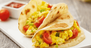 Easy Breakfast Tacos | Vegetarian and Kid-Friendly