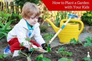 how to plant a garden with your kids