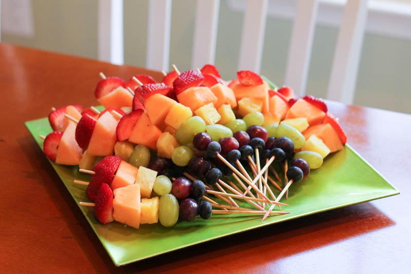 Rainbow Fruit Plate