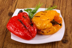 How To Roast Bell Peppers On The Grill