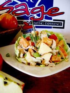 Apple, Sweet Potato, & Turkey Salad