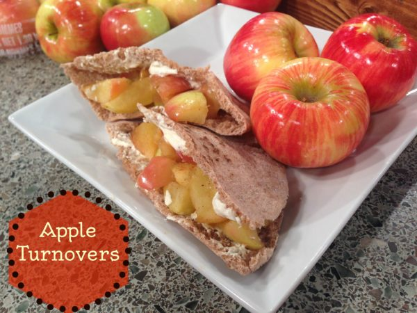 Easy Skinny Apple Turnover by Sage Fruit