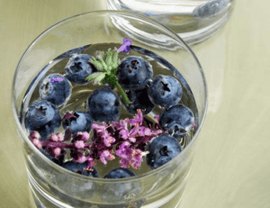 Blueberry Lavender Drink