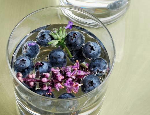 Blueberry Lavender Drink