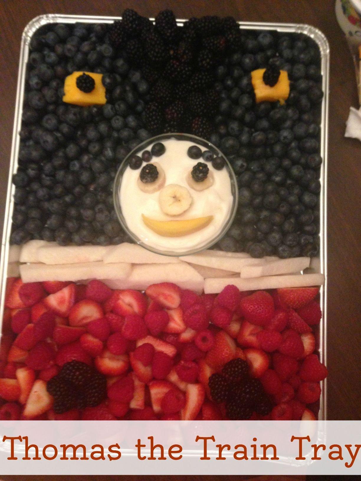 Thomas the Train Fruit Tray