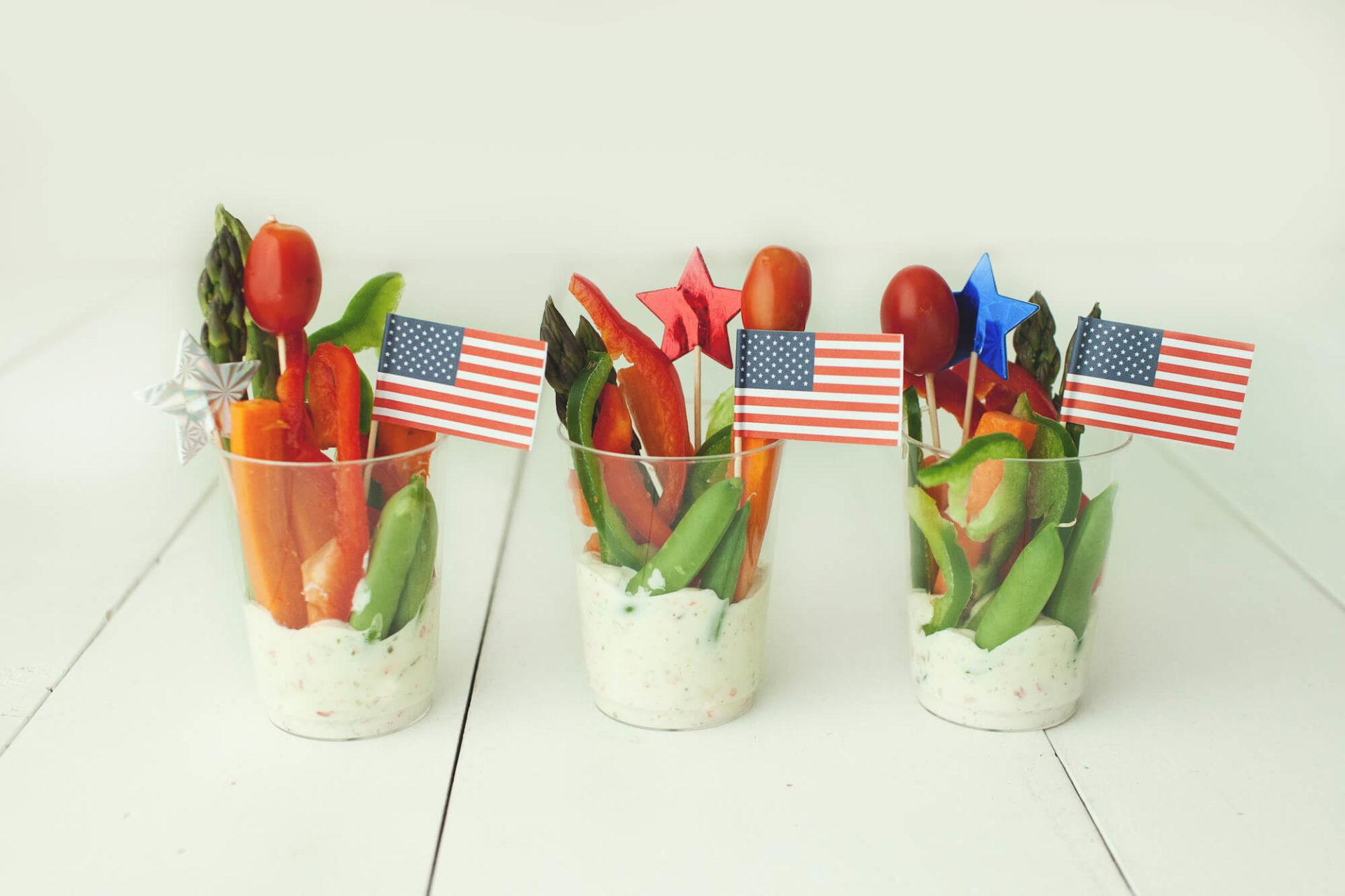 American Veggie Cups