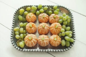 Pumpkin Patch Halloween Fruit Tray