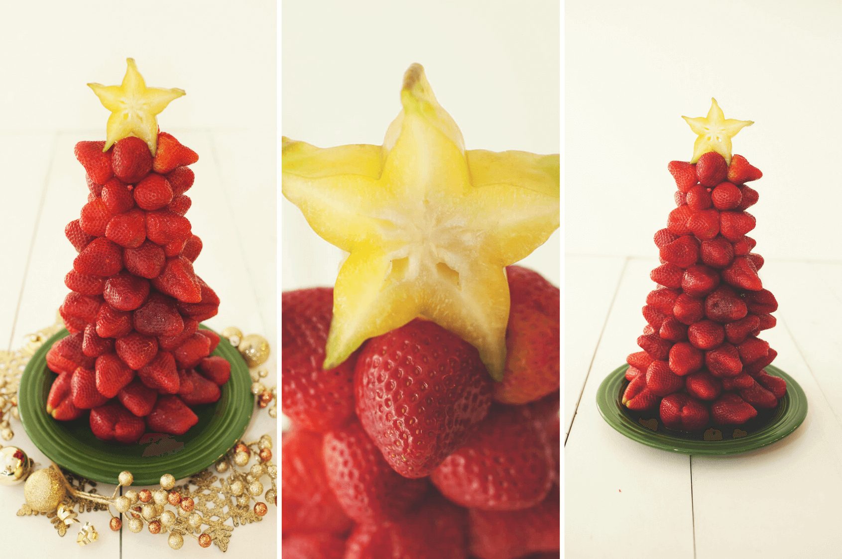 Strawberry Christmas Tree - The