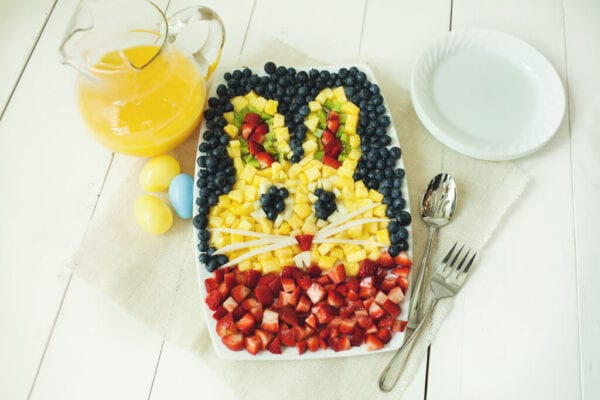 Easter Bunny Fruit Tray | Easter Fruit Tray