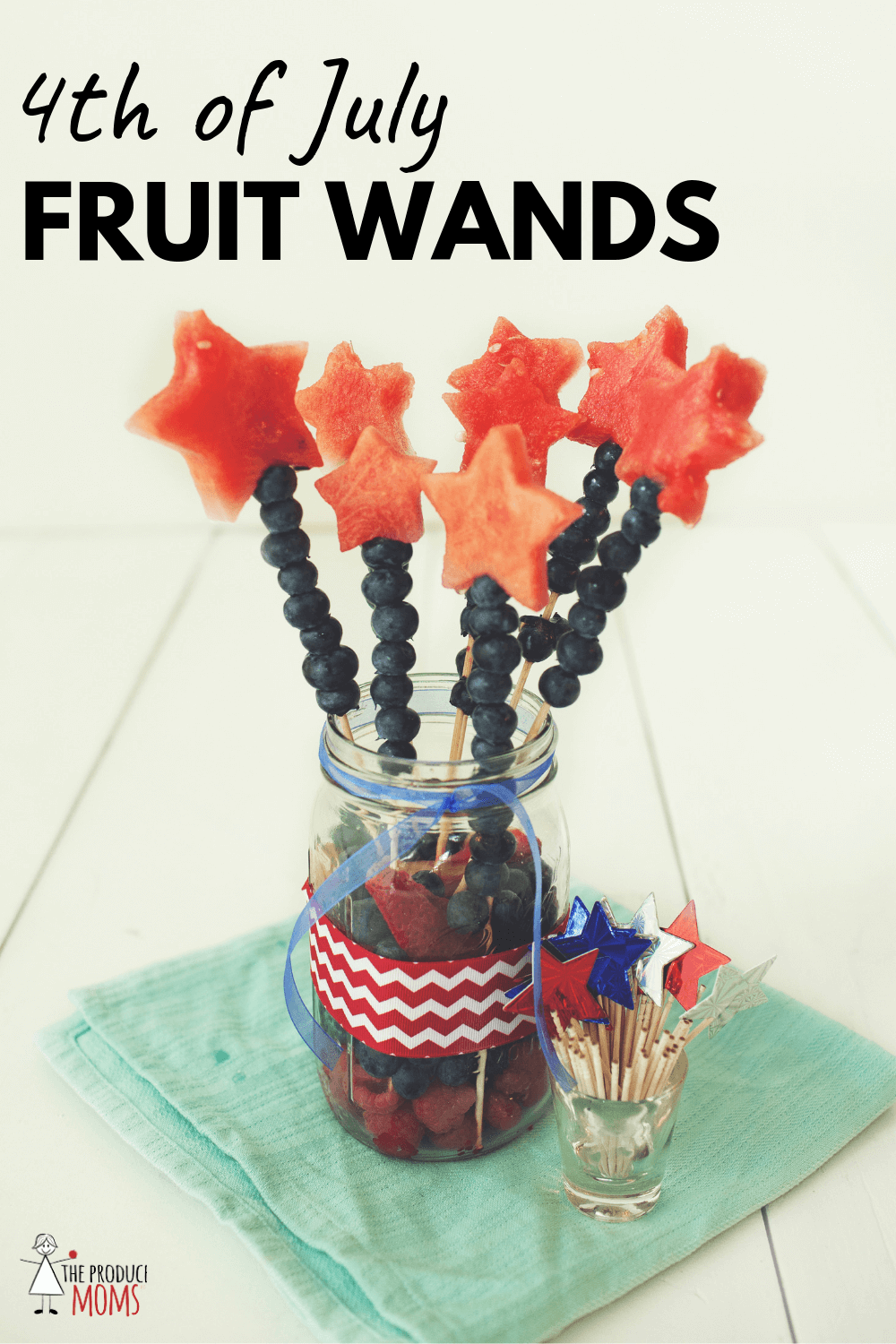 4th of July Fruit Wands