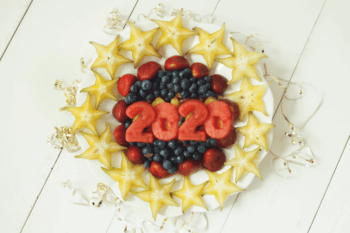 New Year's Fruit Tray