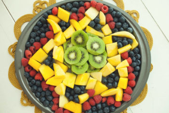 Star of David Fruit Tray | Hanukkah Fruit Tray