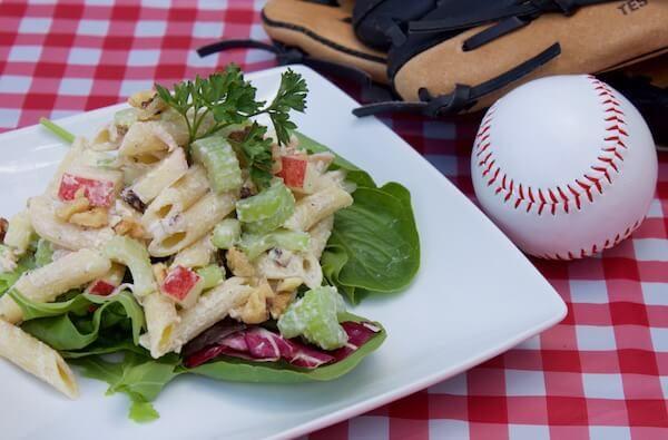 Recipe: Celery And Apple Pasta Salad With Light Caesar Dressing