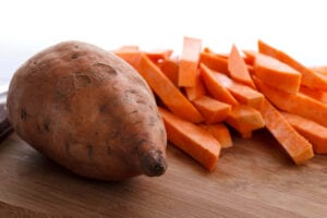 How To Cut Sweet Potatoes