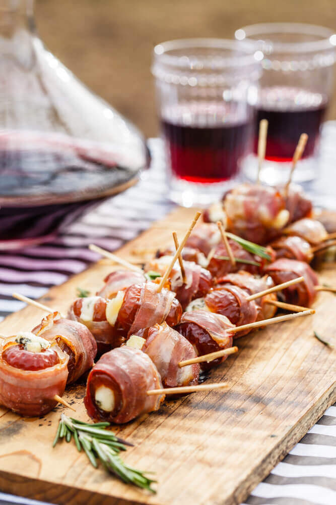 How To Eat Fresh Dates - Bacon Wrapped Dates