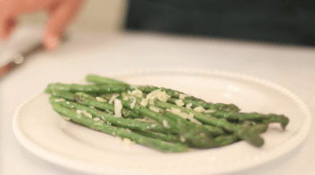 Asparagus With Parmesan - Easy Side Dish