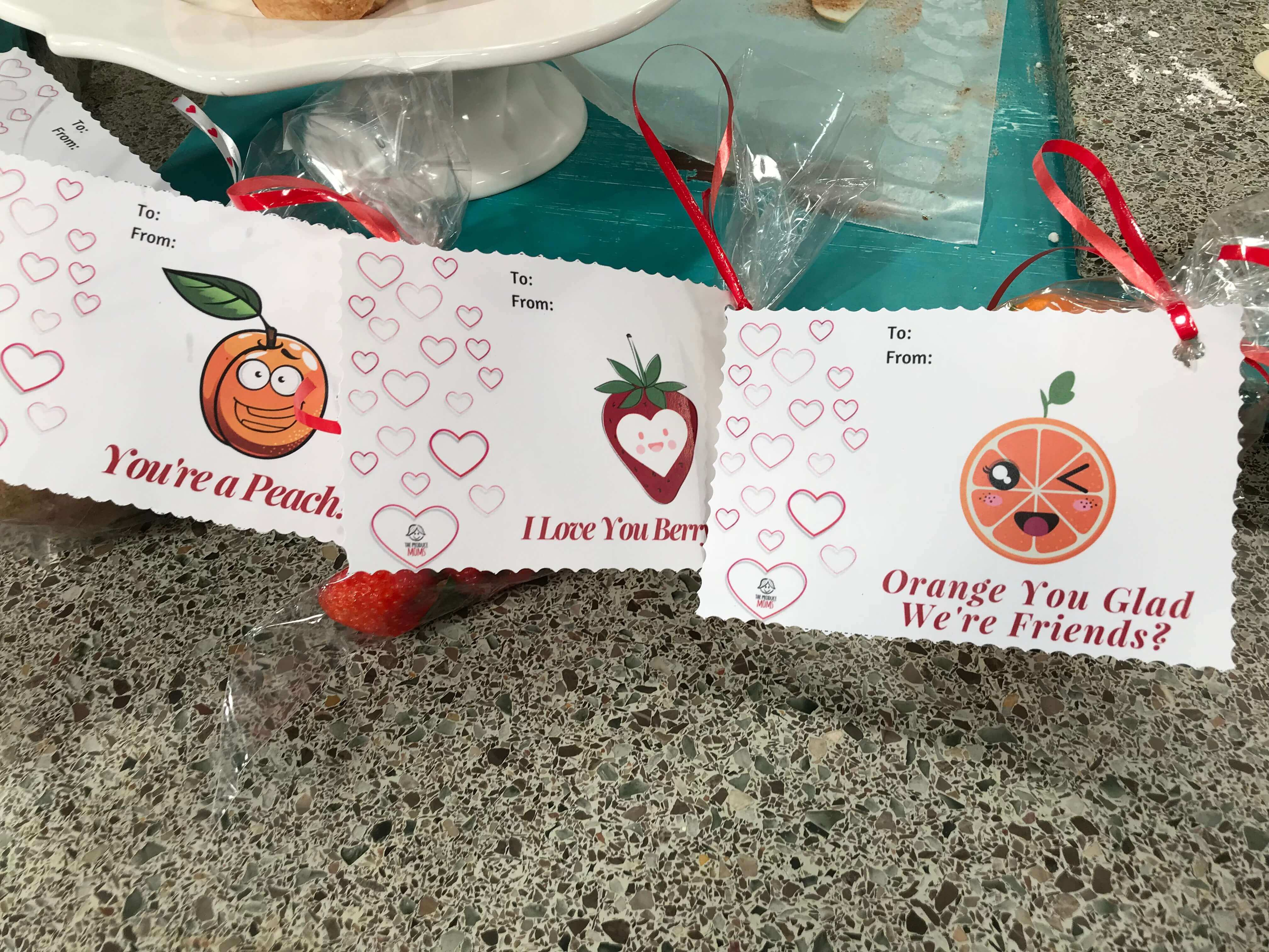 Funny Produce Valentine's Day Cards - FREE DOWNLOAD