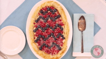 Blueberry and Pomegranate Tart | Easter Dessert Recipe
