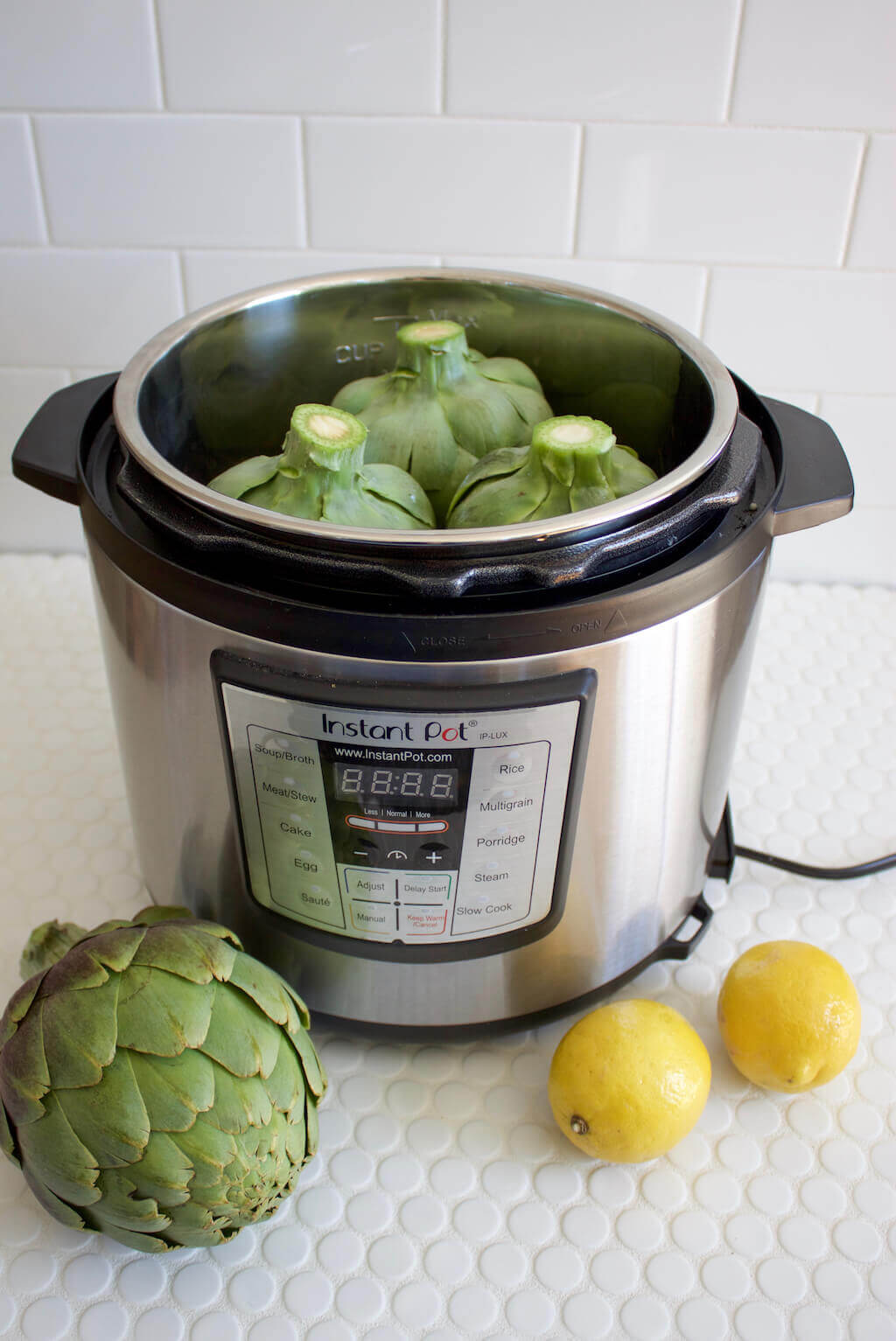 Instant Pot Artichokes | Steaming and Sautéing Artichokes in the Instant Pot