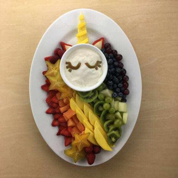 Unicorn Fruit Tray
