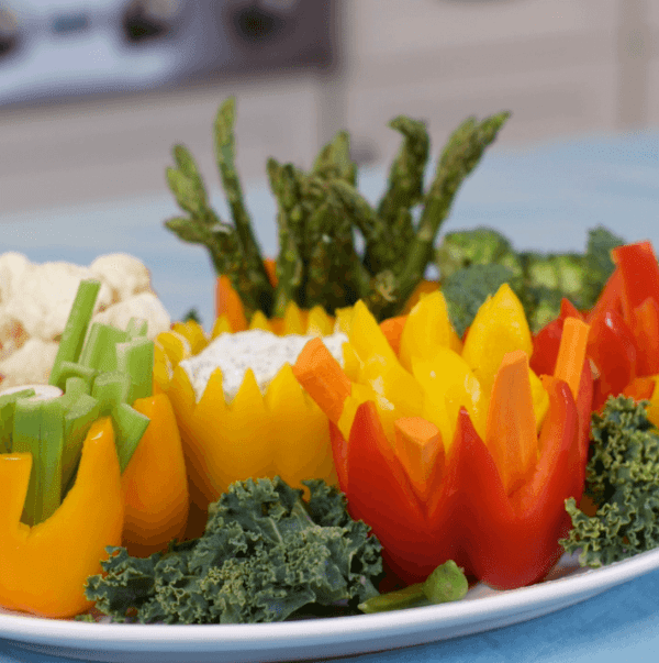 Tulip Vegetable Garden: Mother's Day Vegetable Tray