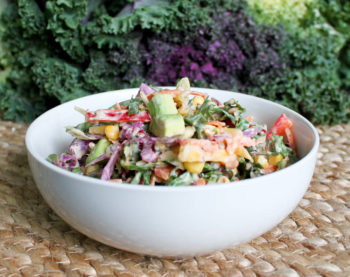 Salad Savoy Southwestern Slaw