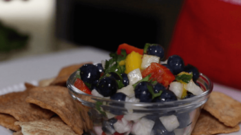 Easy Blueberry Salsa | Fresh Fruit Salsa Recipe