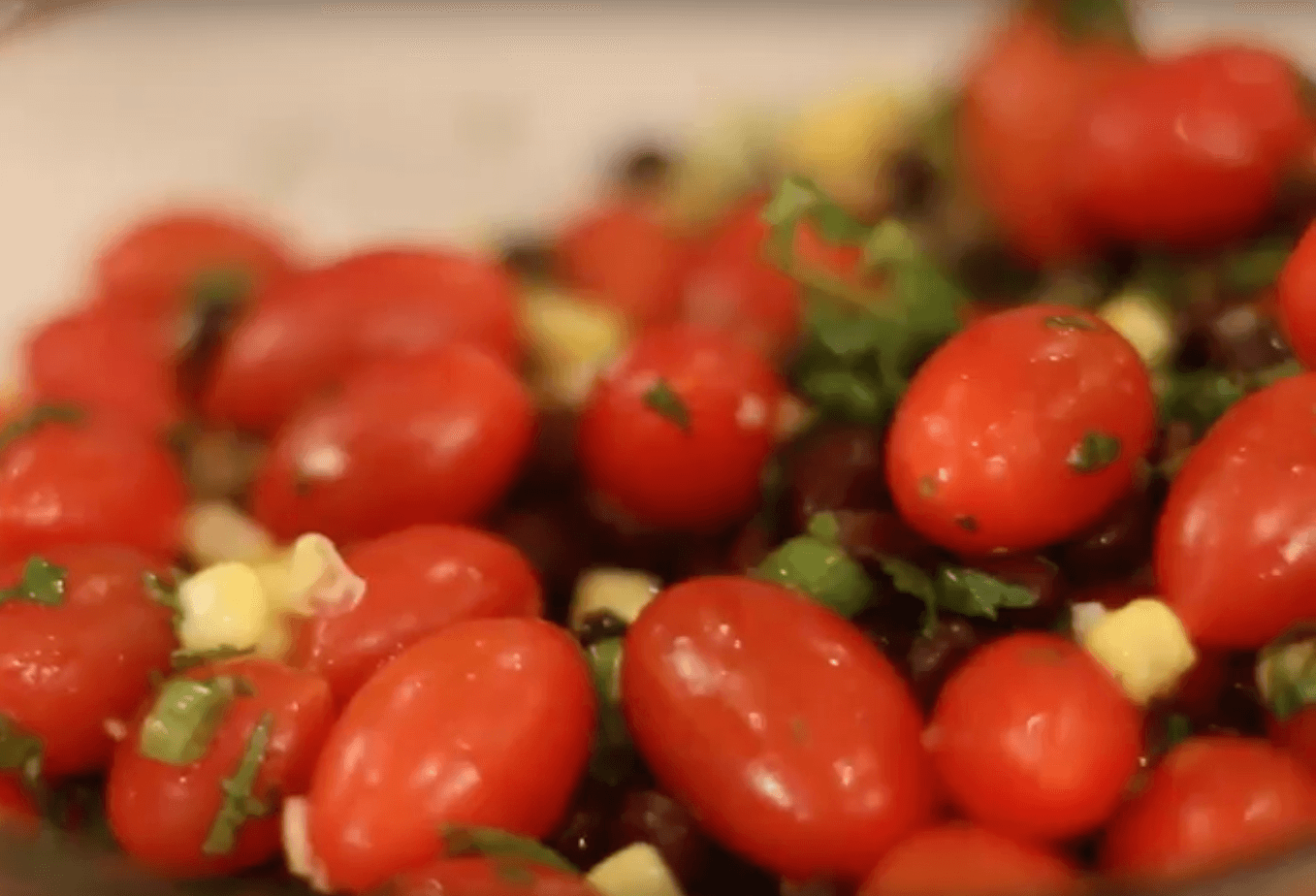 Black Bean and Tomato Salad