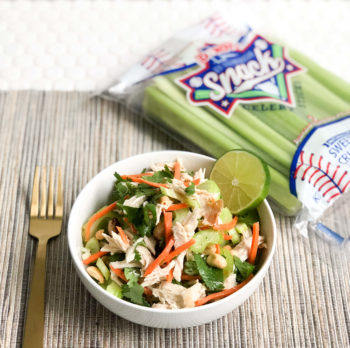 Game Day Dinner: Thai Celery Bowls