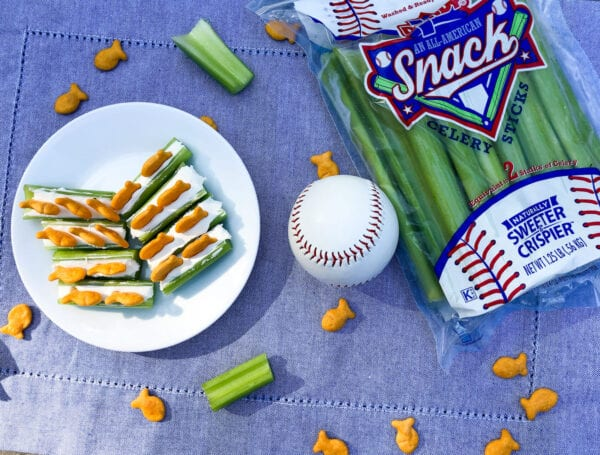 Gone Fishin' Celery Snack
