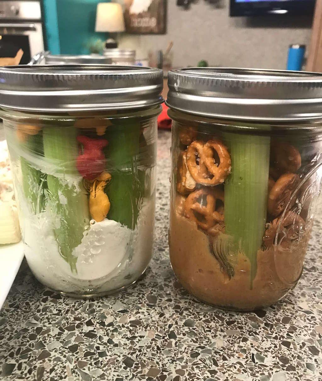 Grab & Go Snack Jars