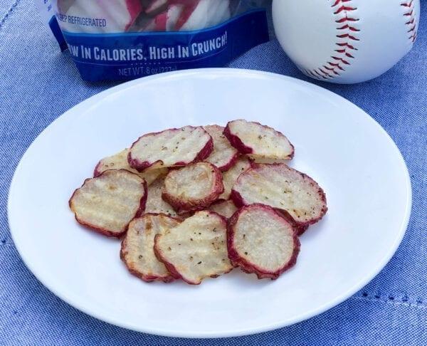 Roasted Radish Chips