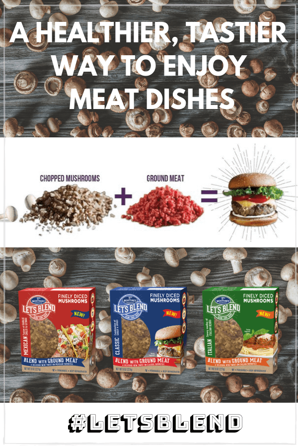 Let's Blend: Mushrooms + Meat For a Healthier Meal
